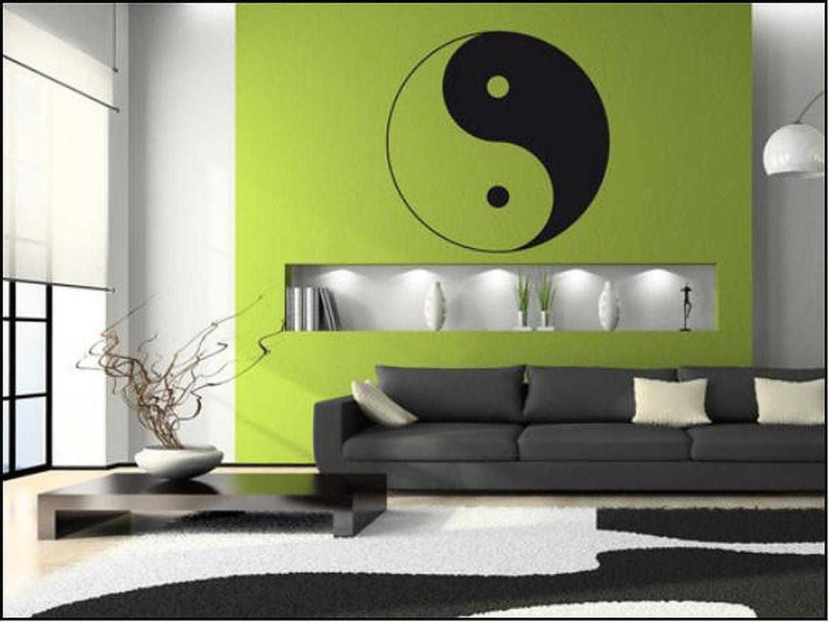 Wandtattoo Yin Yang 45 Cm In 4675 Weibern For 19 00 For Sale Shpock
