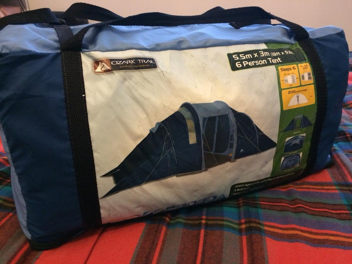 Ozark Trail 6 man tent in M15 Salford for £60 00 for sale