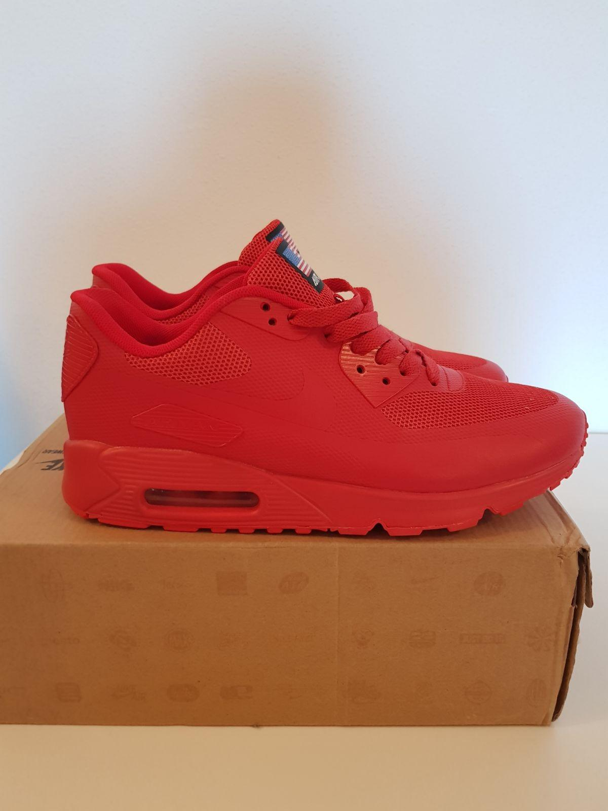 NIKE Airmax 90 HYPERFUSE RED Independence Da in 5541