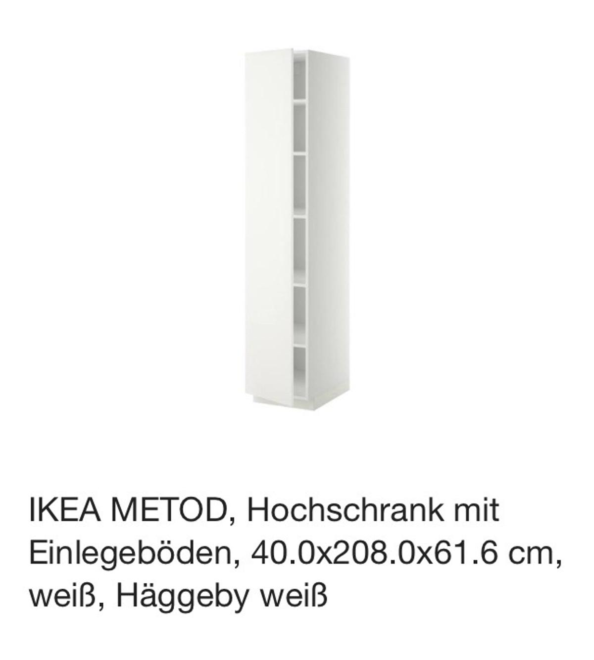 Ikea Metod Hochschrank In 68159 Mannheim For 60 00 For Sale Shpock