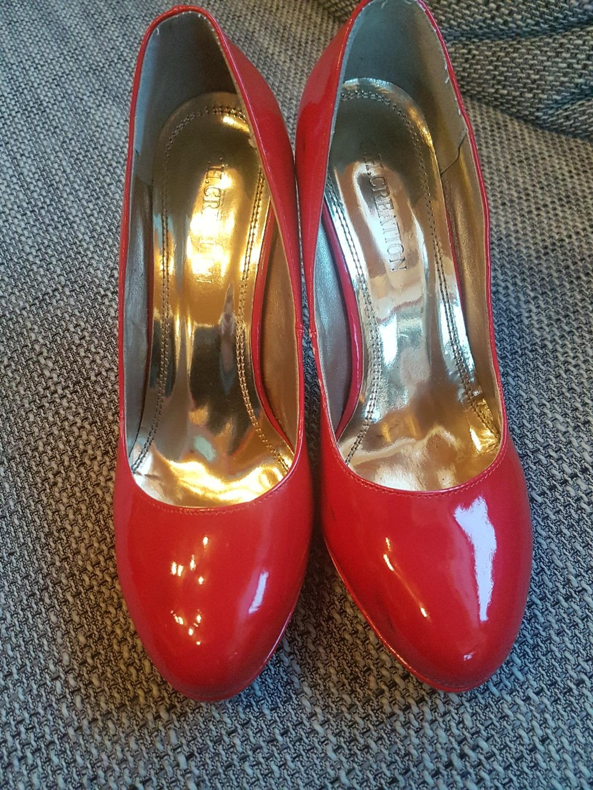 Lack Pumps High Heels rot in 63067 Offenbach am Main for