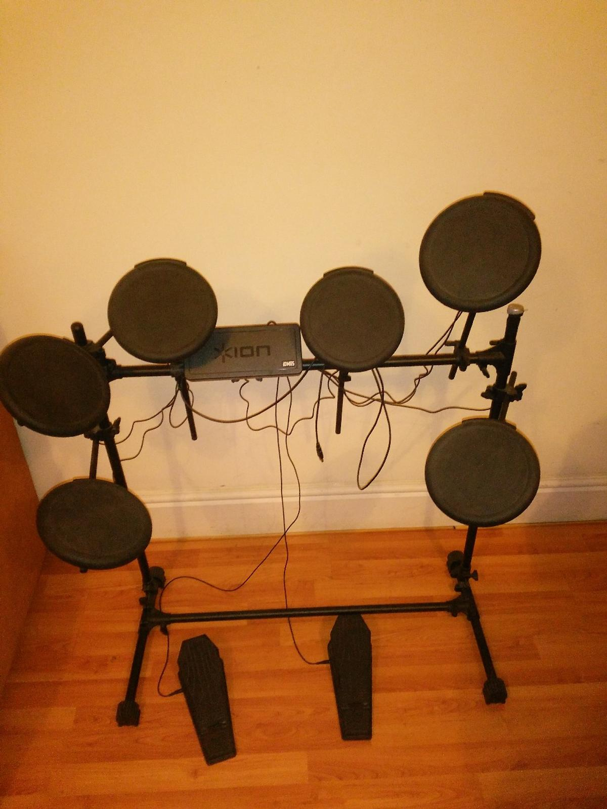 Electric drum kit Ion iDM05 -collection only