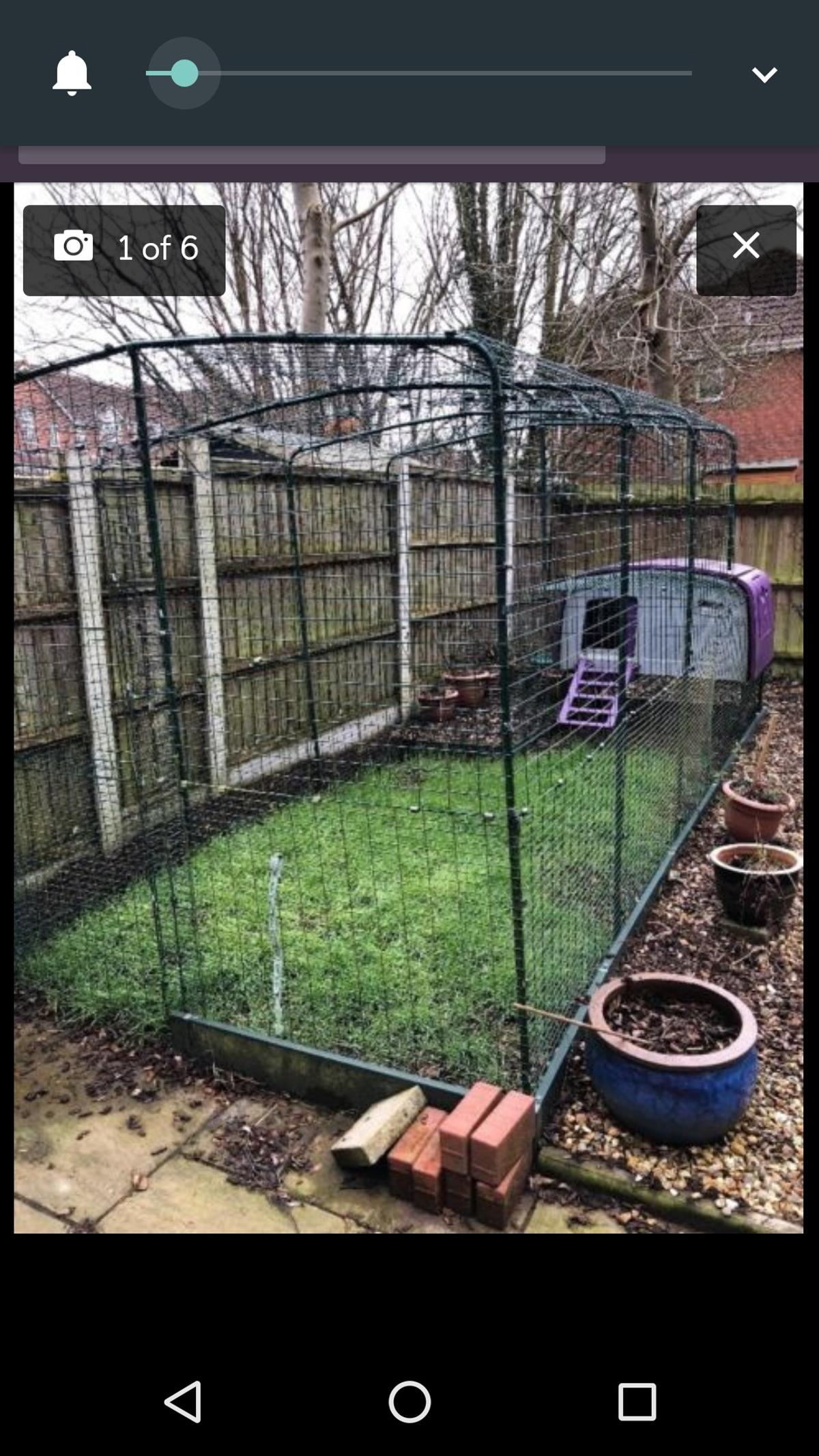 Omlet cube chicken coop with huge 5m run in South Ribble for