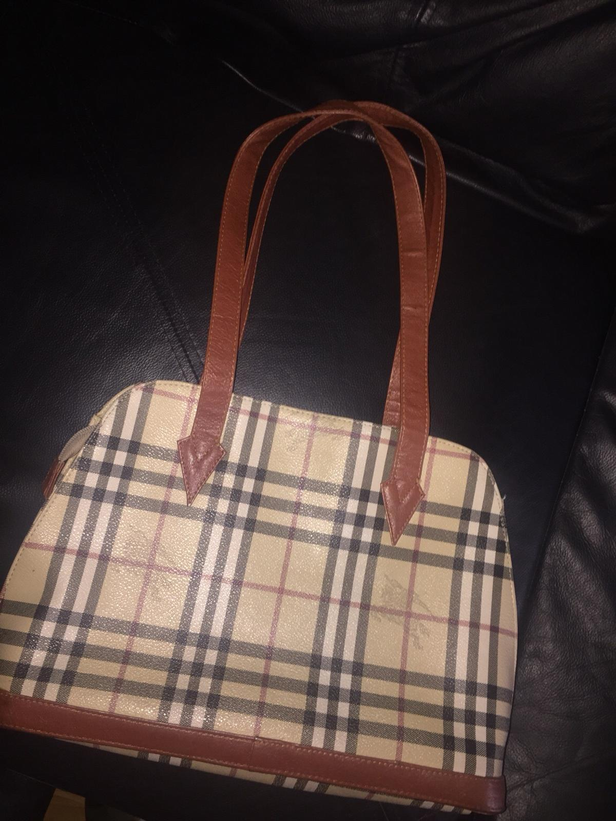 Authentic Burberry Handbag In E17
