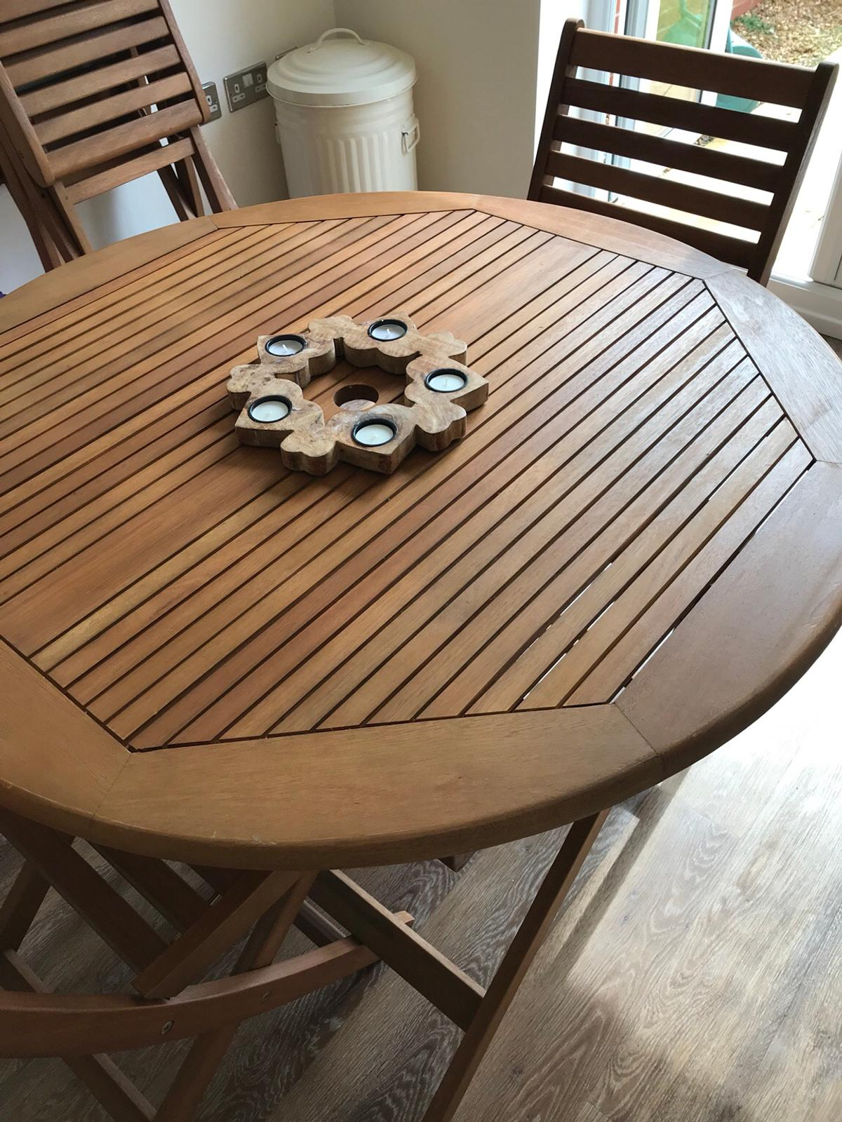 B&Q garden table and chairs in Chorley for £70.00 for sale ...
