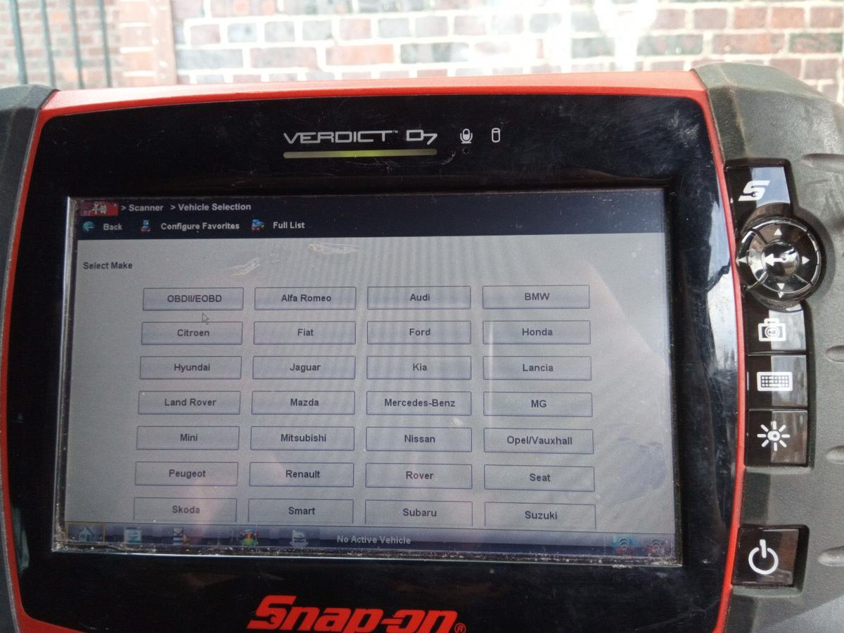 Snap on diagnostic machine in KT3 London for £650 00 for sale - Shpock