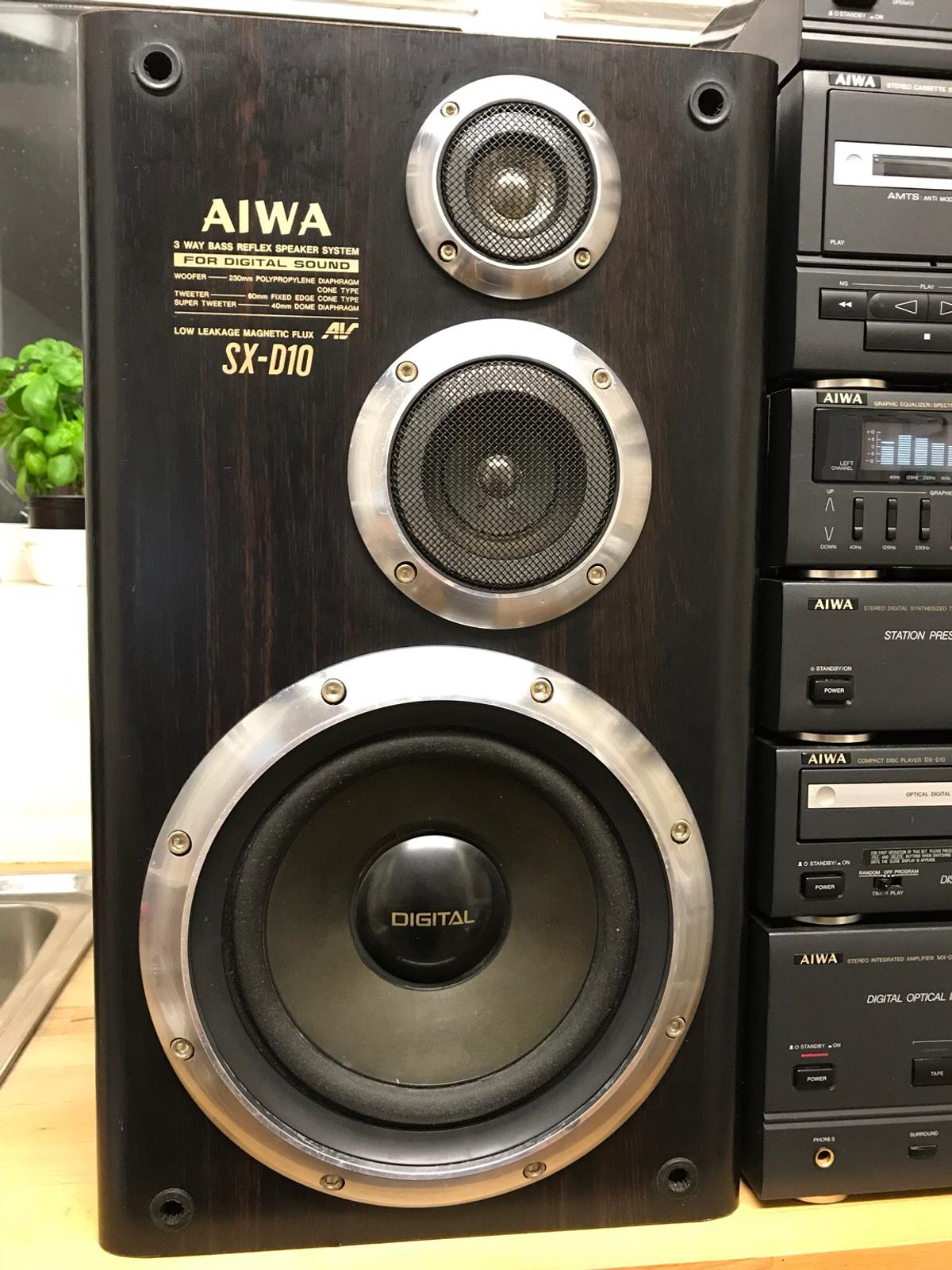 Retro 90s Aiwa stacking system in CT11 Thanet for £90 00 for