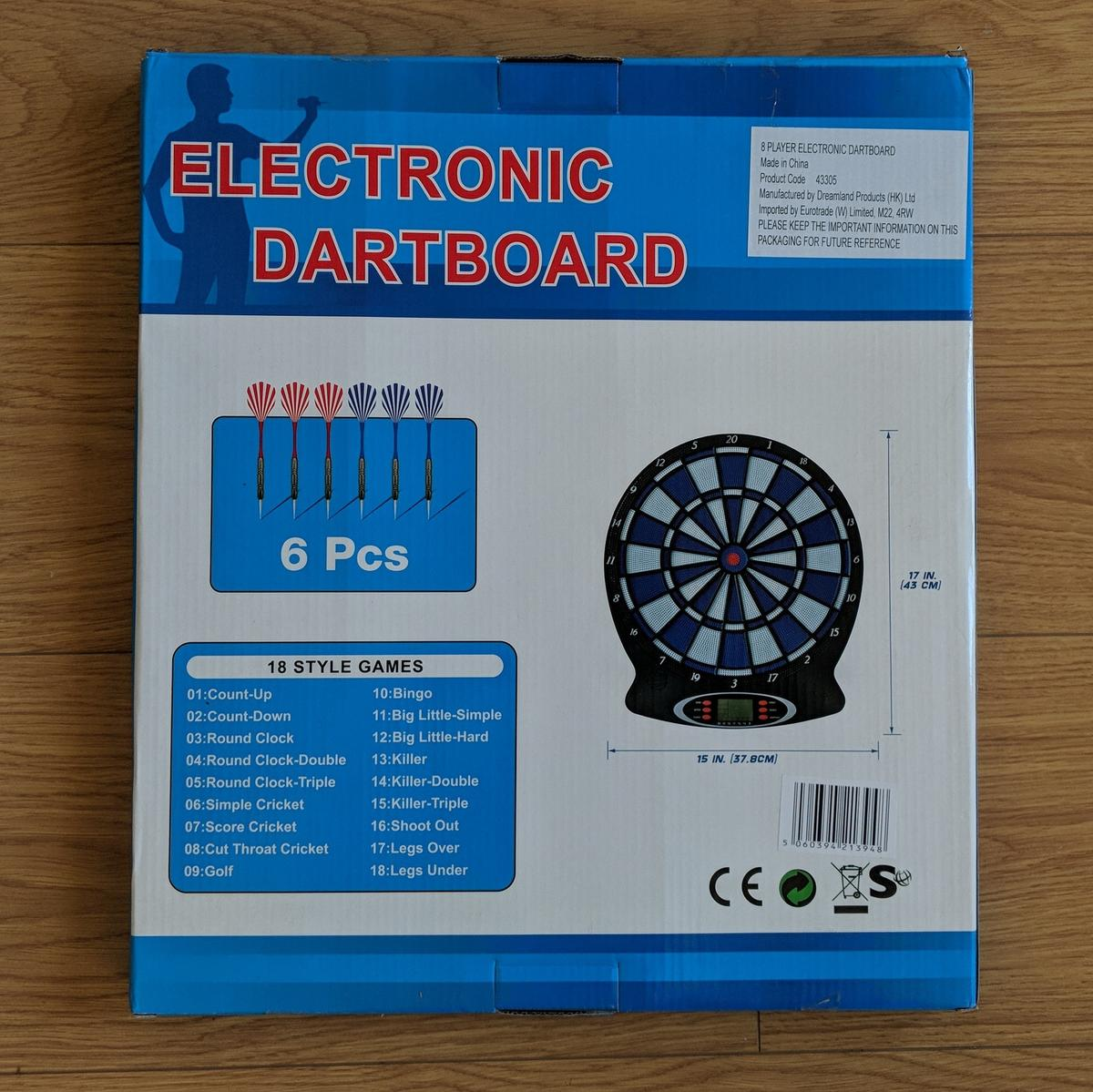 New Electronic Dartboard Extra Darts In N8 London For