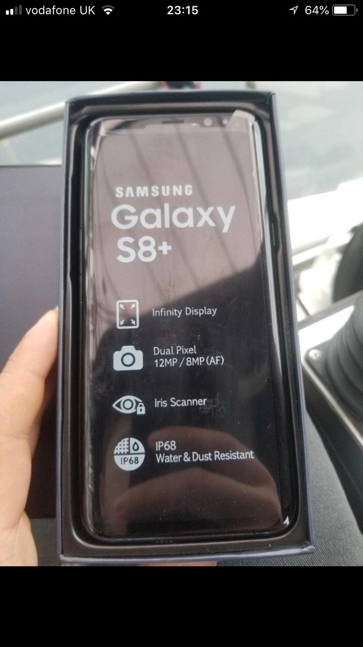 Samsung Galaxy S8 Plus Gold 64GB  EE