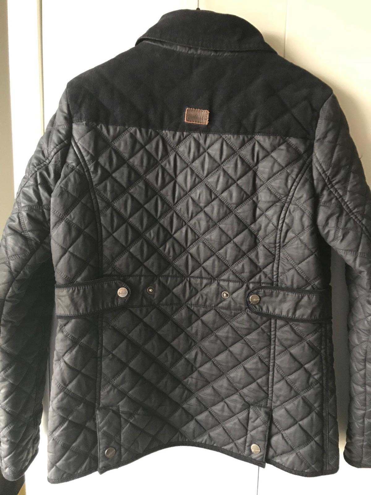 a few days away modern techniques high quality Ladies Navy Quilted Jacket
