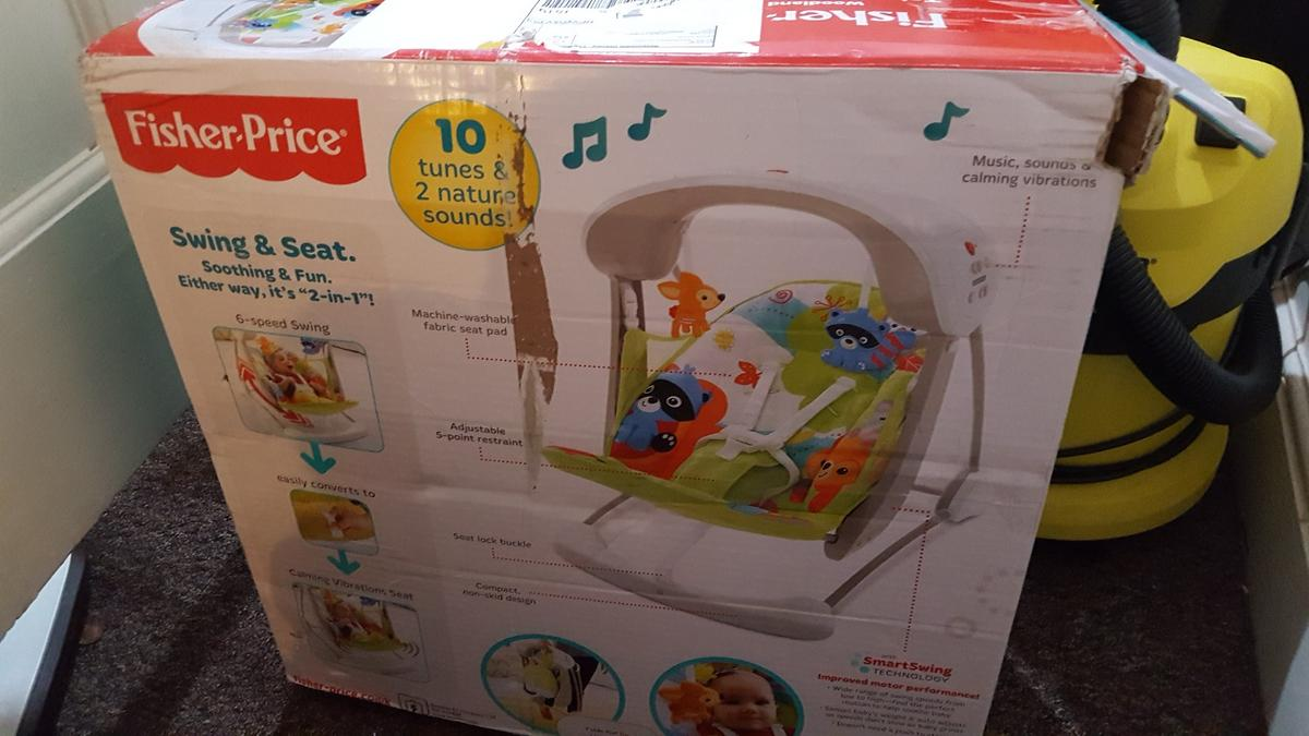 bb14c34e9e5 Baby swing fisher price in NG7 Nottingham for £25.00 for sale - Shpock