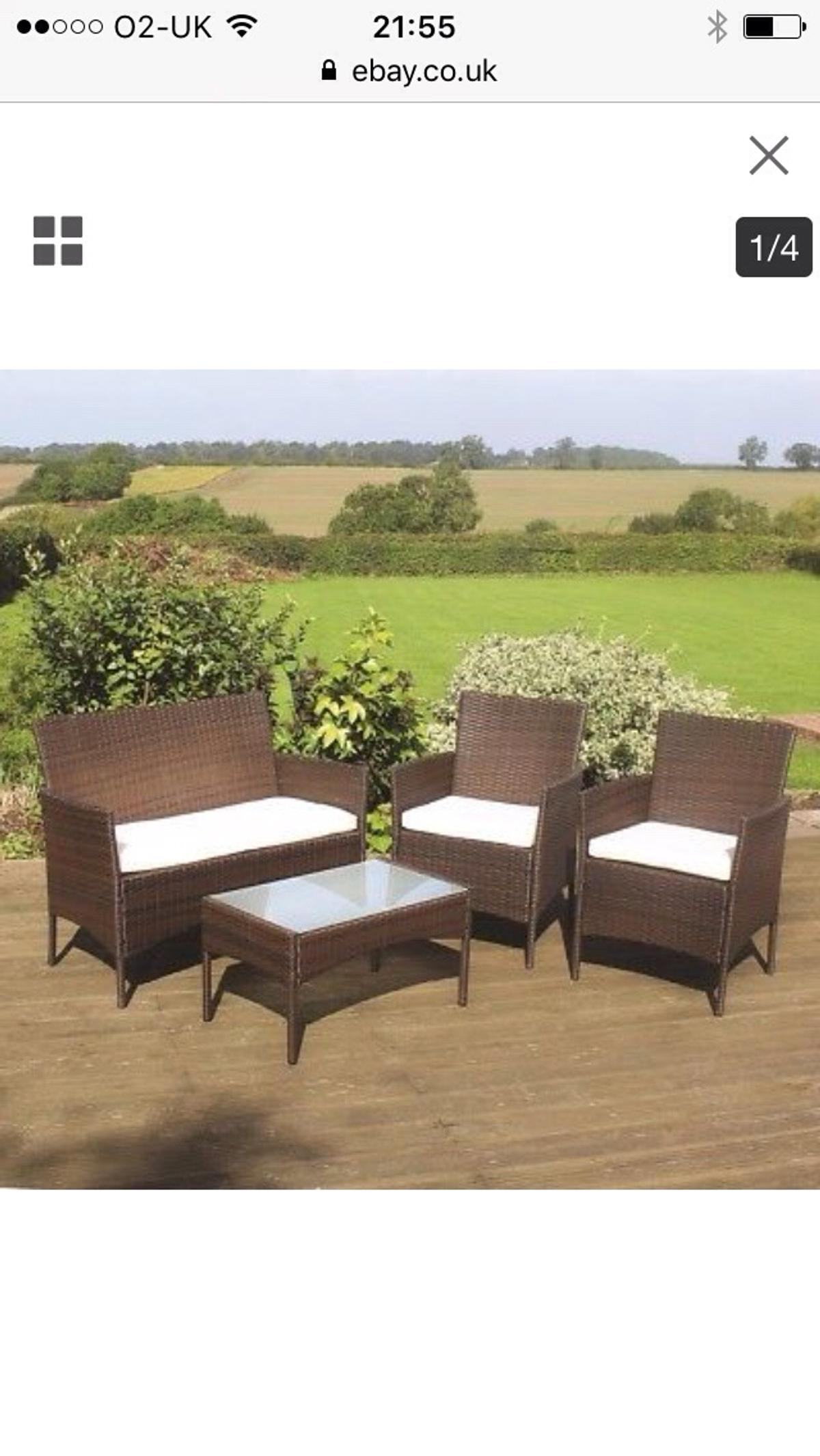 Rattan Garden Furniture In Leighton For 100 00 For Sale Shpock