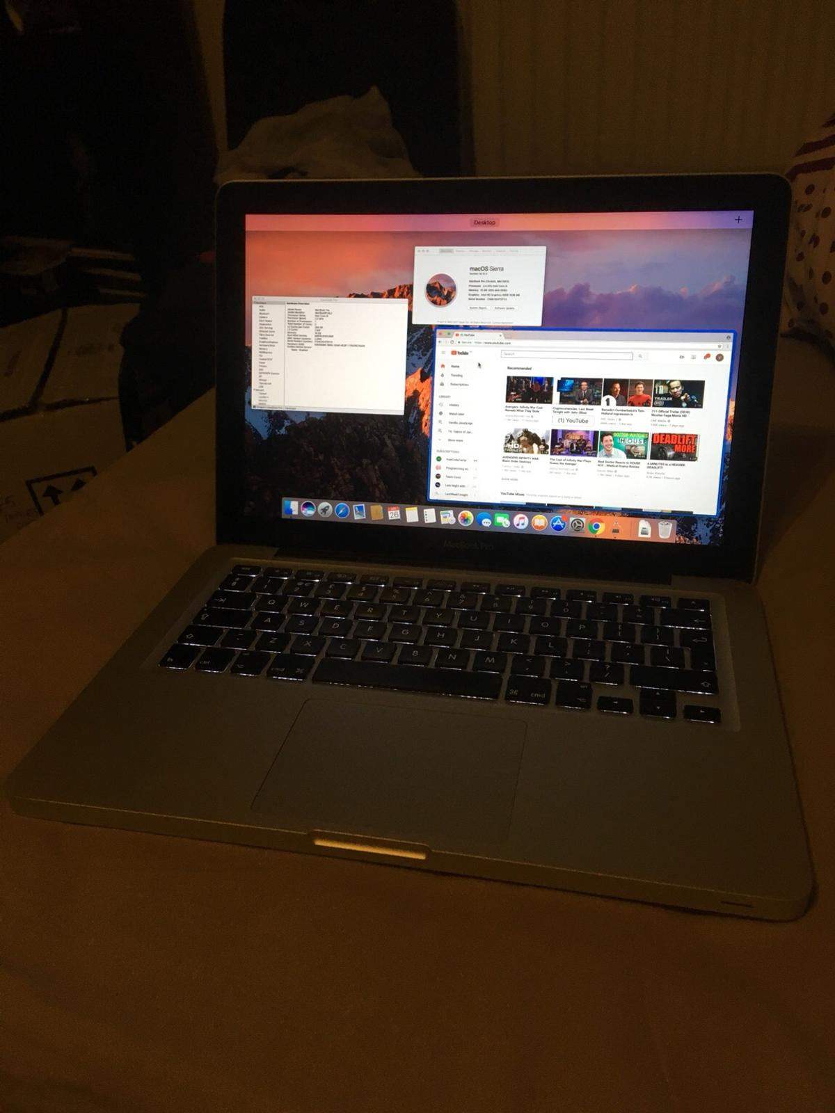 MacBook Pro 13 inch mid 2012 500Gb SSD in SE16 Southwark for