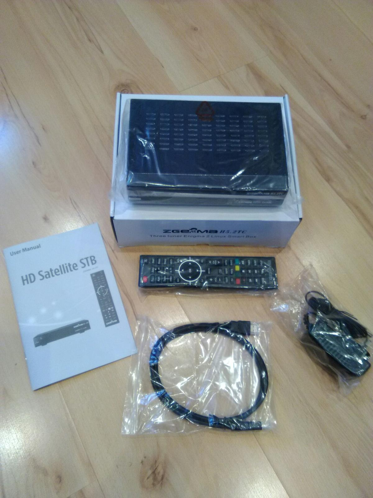 ZGEMMA H5 2TC DIGITAL SATELLITE RECEIVER in ST6 Tunstall for