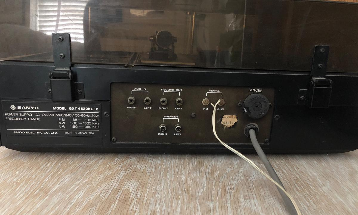 Vintage Sanyo Record Player GXT 4520KL-2 in SW6 Fulham for £150 00