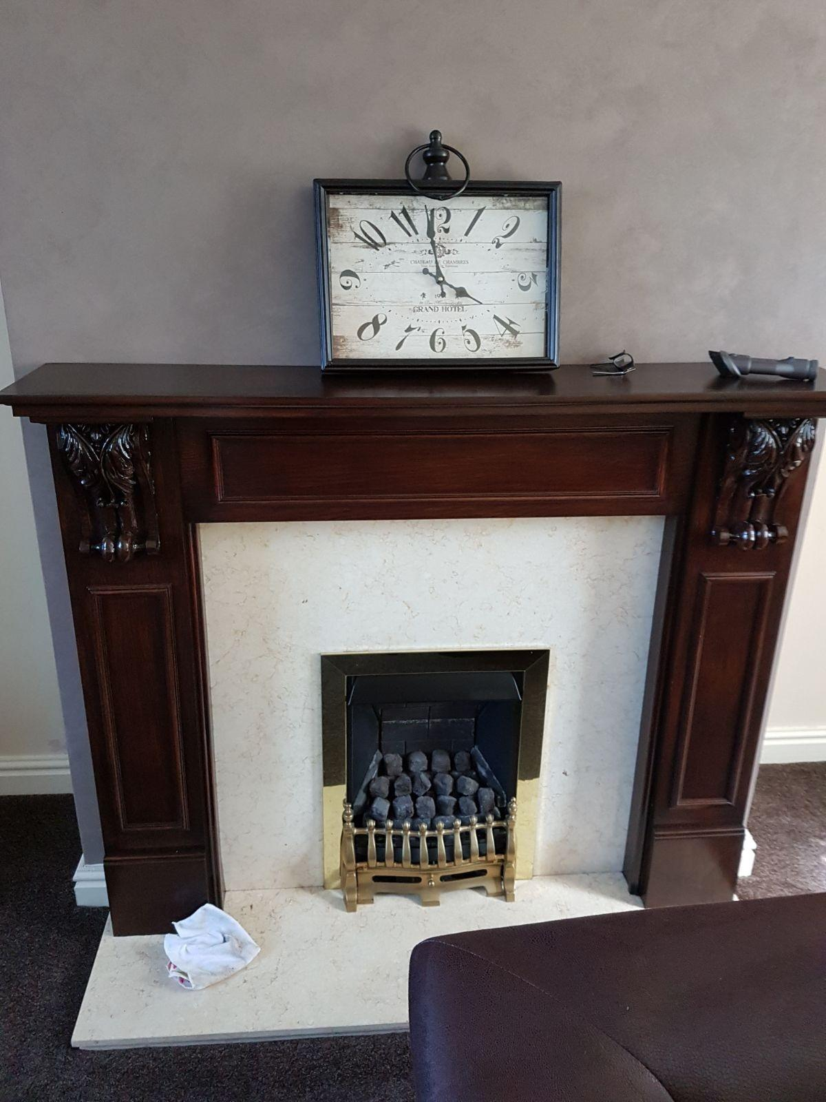 Solid Wood Fire Surround Only Not Marble O In S60 Rotherham For 50 00 For Sale Shpock