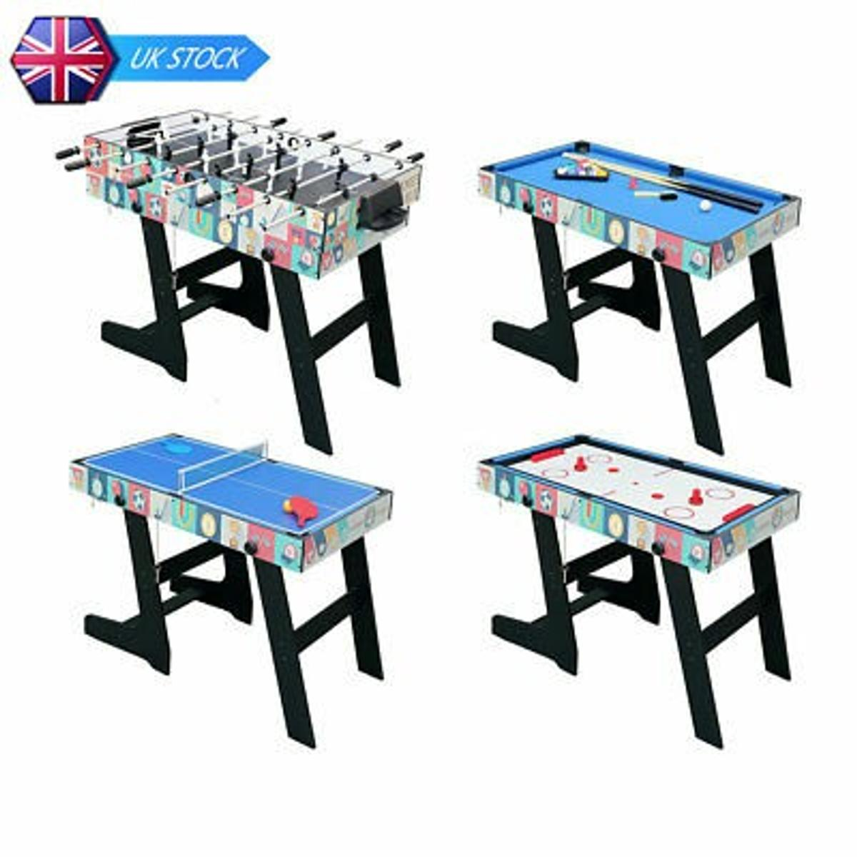 - New And Boxed 4ft Folding Multi Game 4 In 1. In M18 Manchester For
