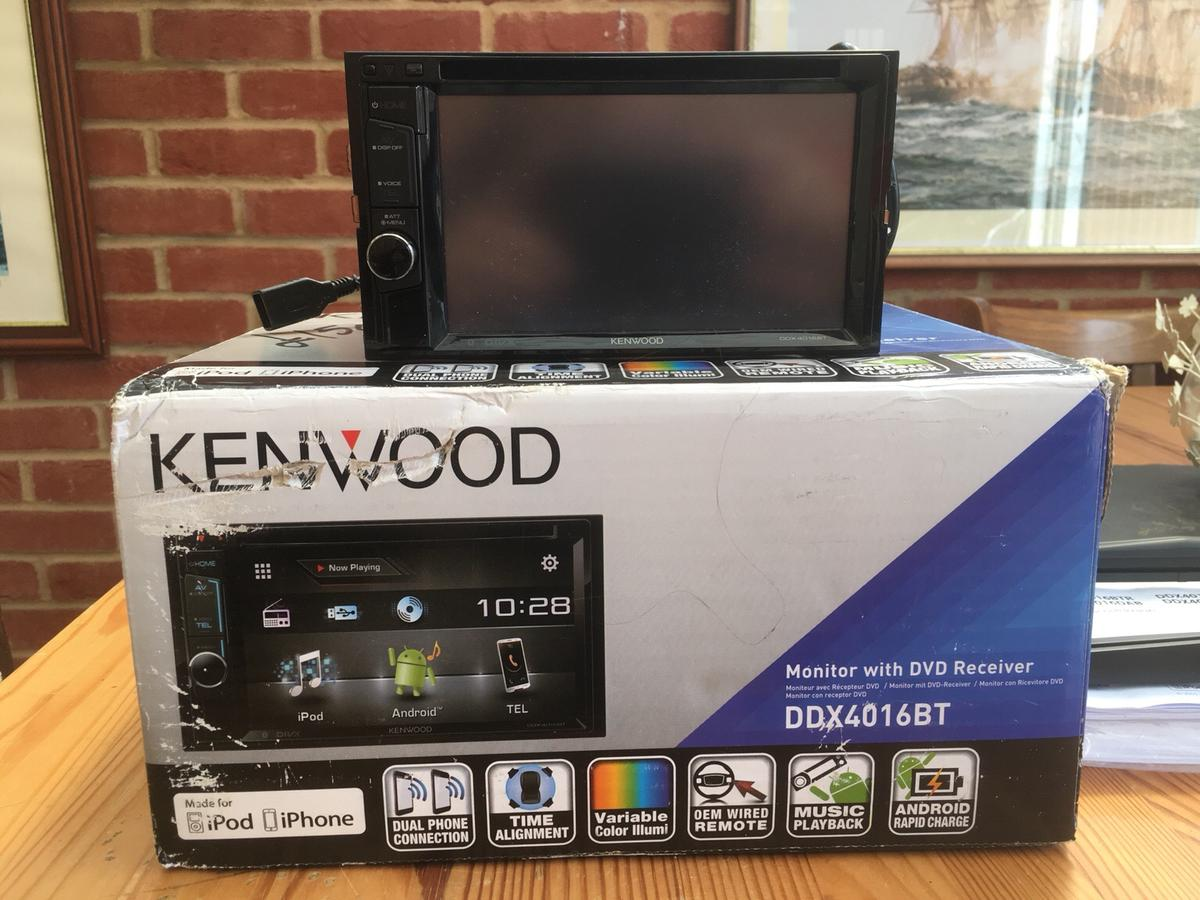 Kenwood DDX4016BT Monitor with DVD Receiver in ME15