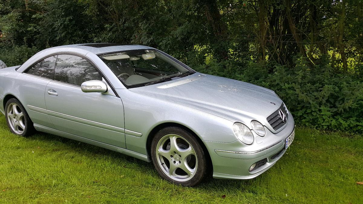 MERCEDES CL500 2005 7 SPEED AUTO in Bassetlaw for £2,700 00