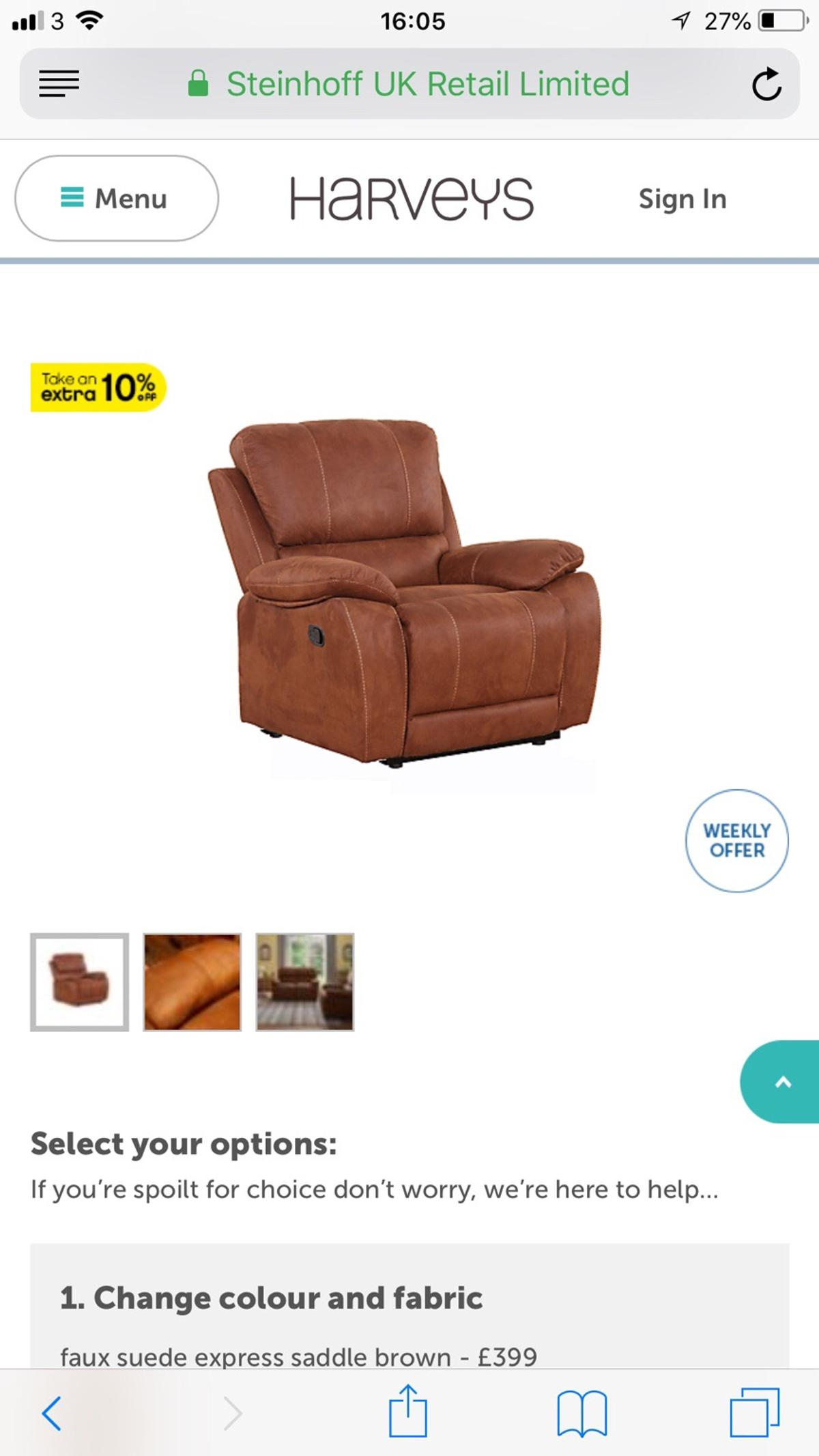 Terrific Harveys Faux Suede Sofa And Chairs Pabps2019 Chair Design Images Pabps2019Com