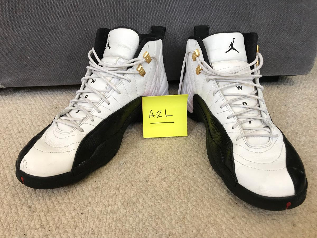 info for d4465 a7847 Nike Air Jordan 12 'Taxi' UK 11 worn.
