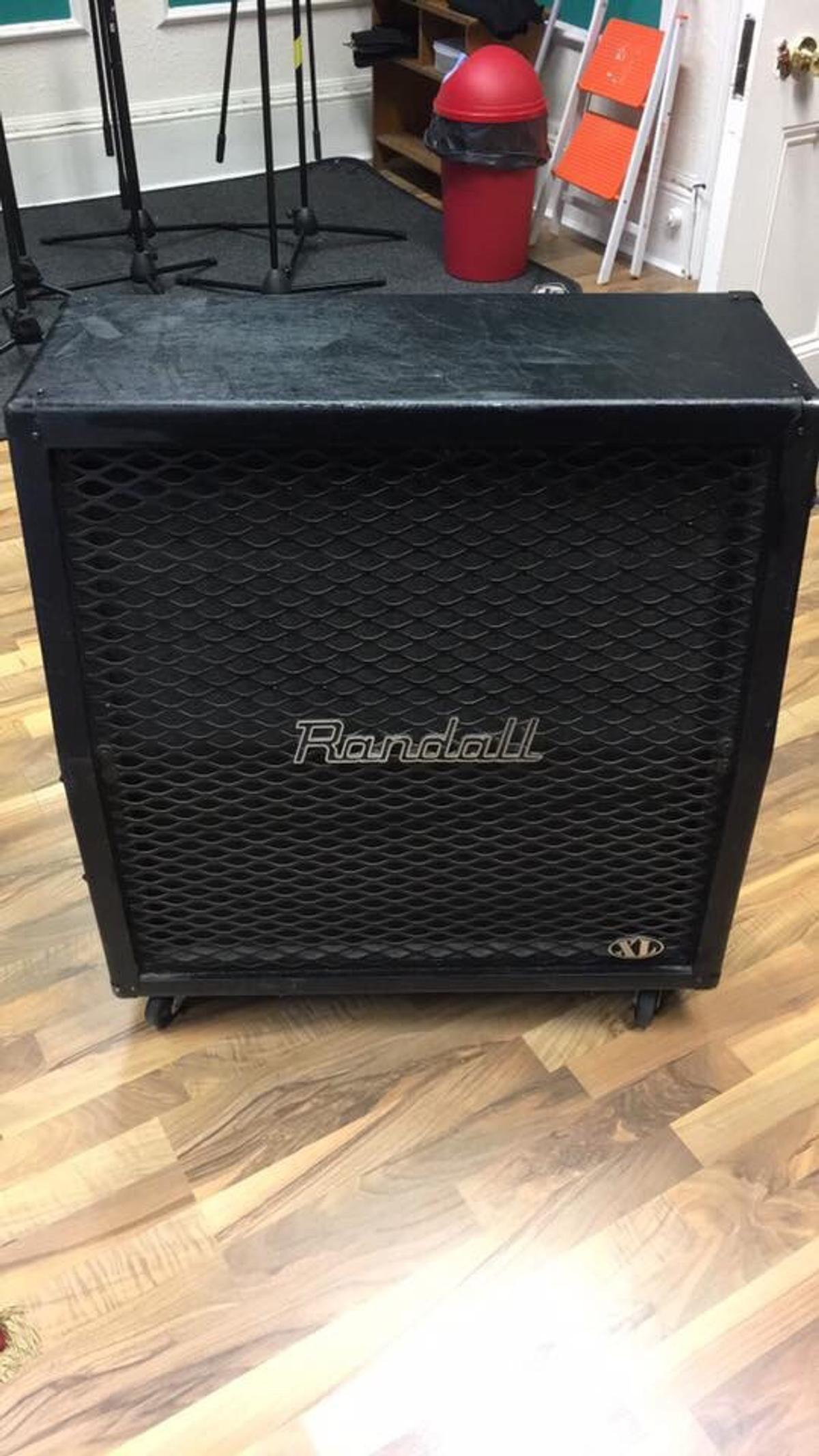 Randall XL 4x12 Angled Cab in ST17 Stafford for £200 00 for sale