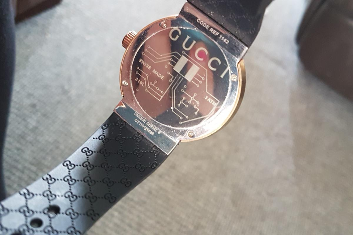 75a65dc82af Gucci Watch Serial Number DY119126568 in Horden for £20.00 for sale ...