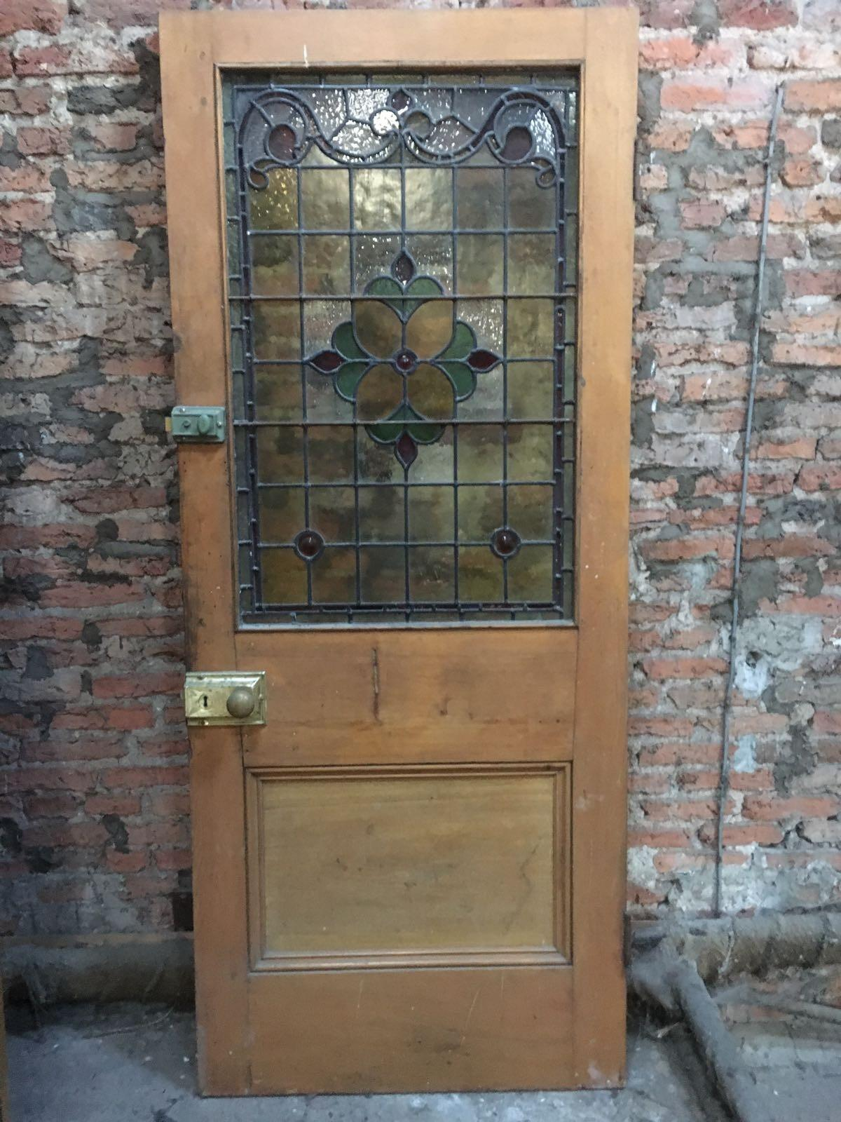 Beautiful Stained Gl Front Door