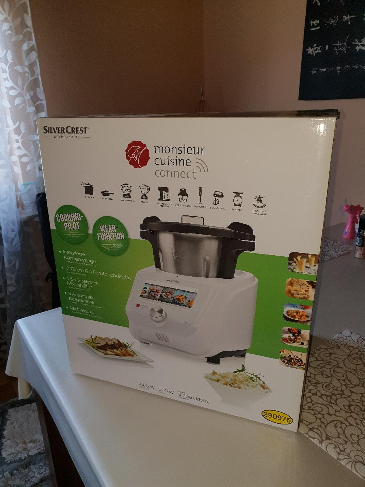Monsieur Cuisine Connect Skmc 1200 Ovp In 35088 Battenberg Für 399