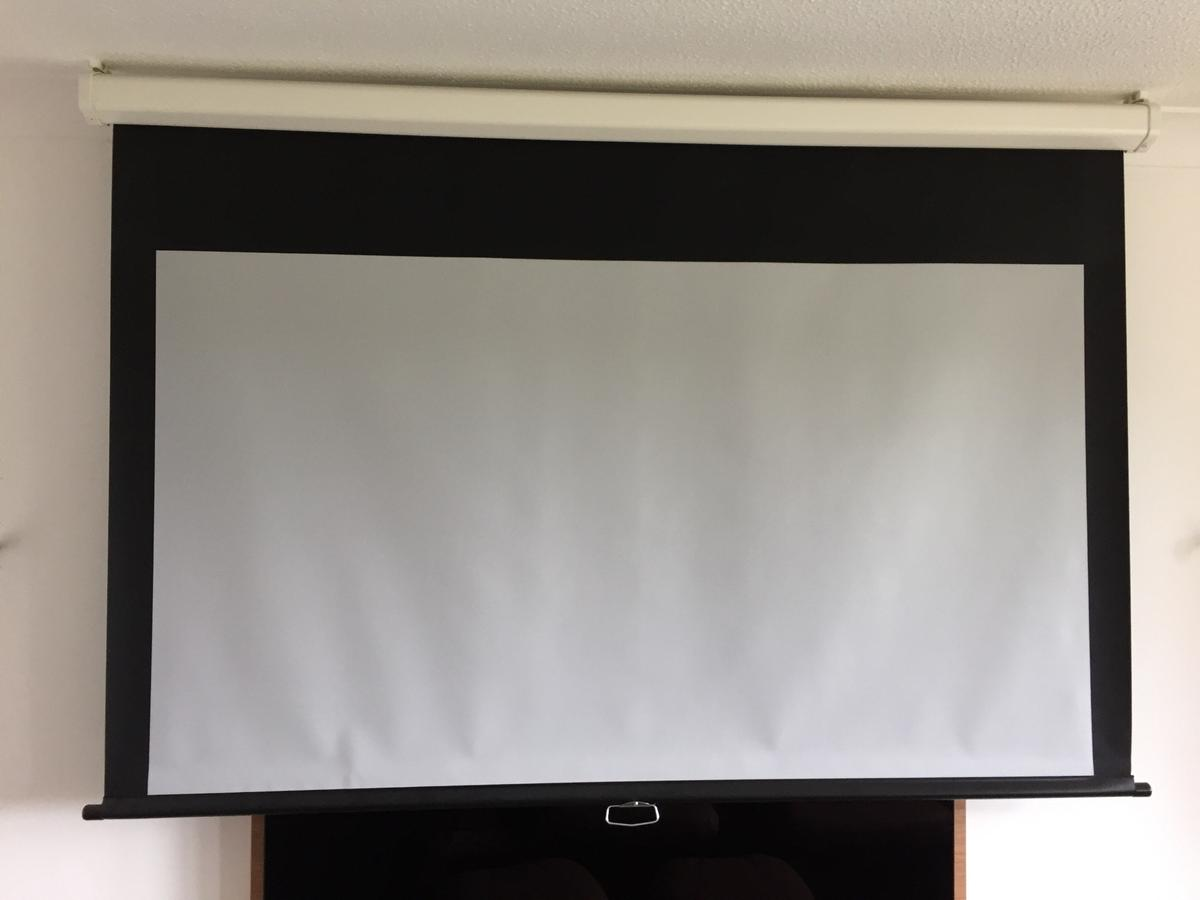 PROJECTOR SCREEN 20 inch ROLL UP, SILVER COAT in Stockport für 20 ...