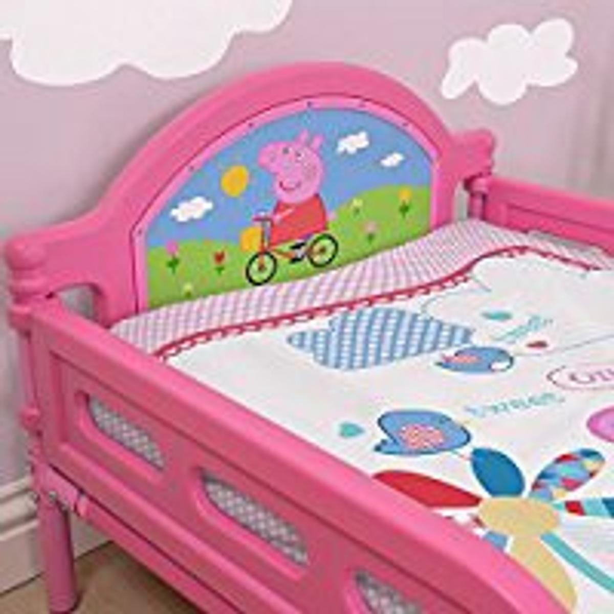 new product b44dd 8f8cc Peppa Pig Toddler Bed