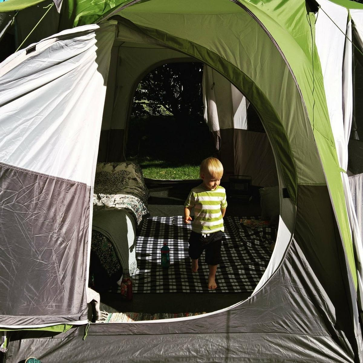 Coleman Cortez Octagon 8 Tent. Green. in WS12 Chase for