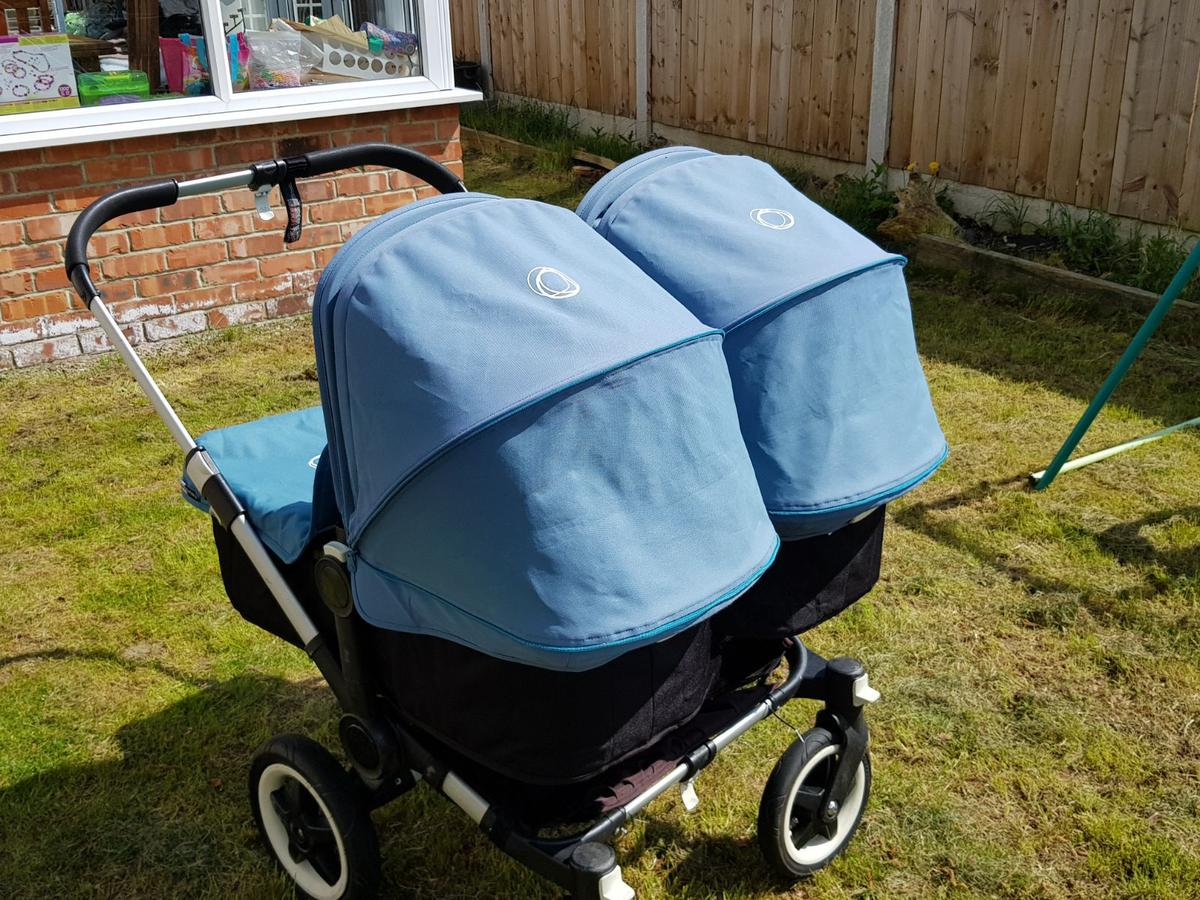 Bugaboo Donkey Twin Pram Pushchair In Ts5 Middlesbrough For