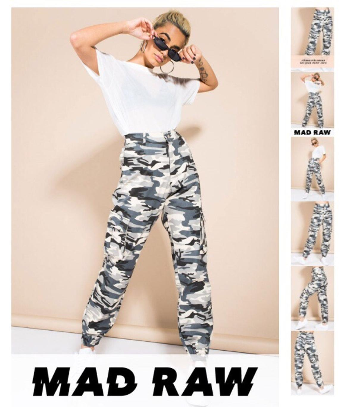 ae745b4390ba MADLAY CAMO PANTS in 12832 Stockholm for SEK 350.00 for sale - Shpock