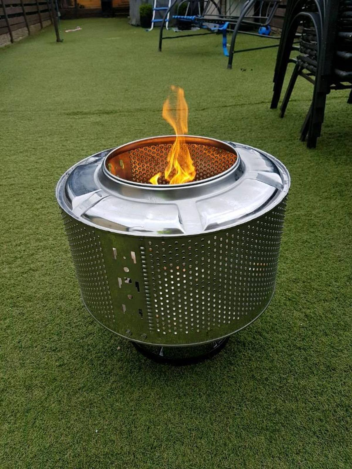 Washing Machine Drum Fire Pit In L39 Lancashire For 15 00 For Sale