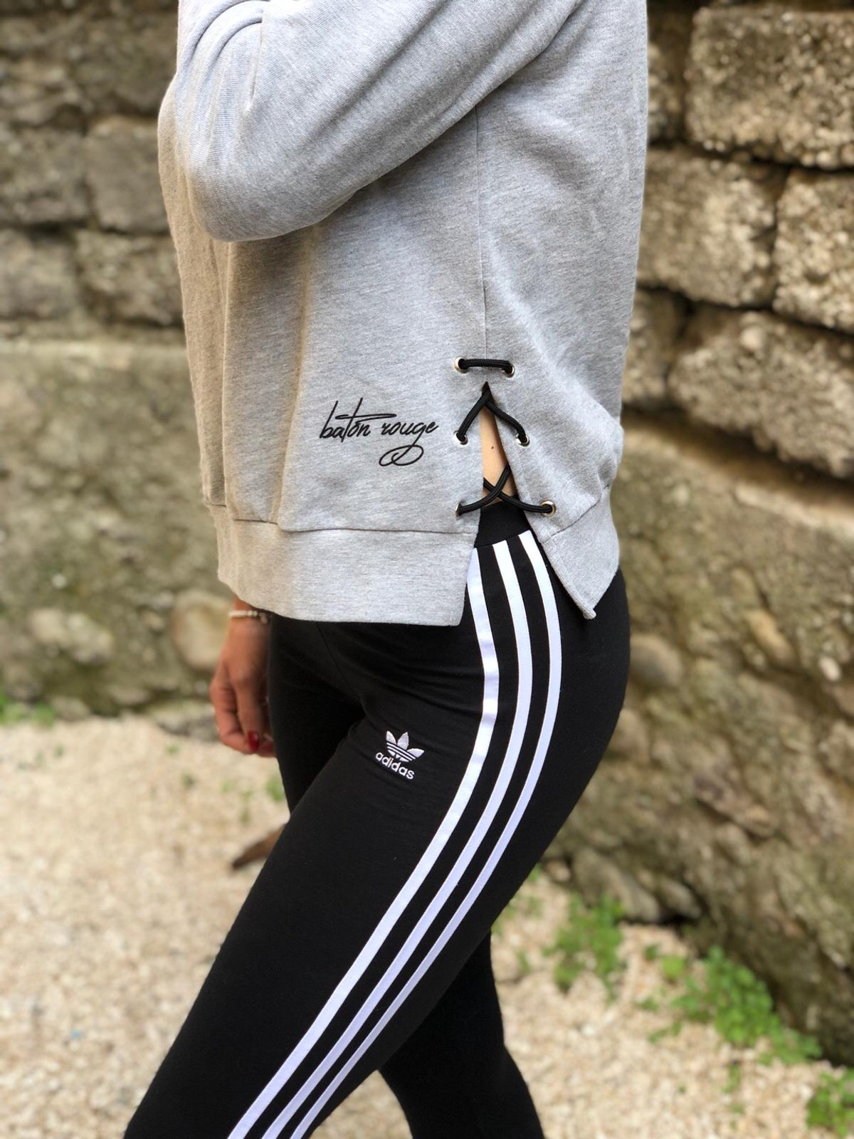leggings e felpa adidas