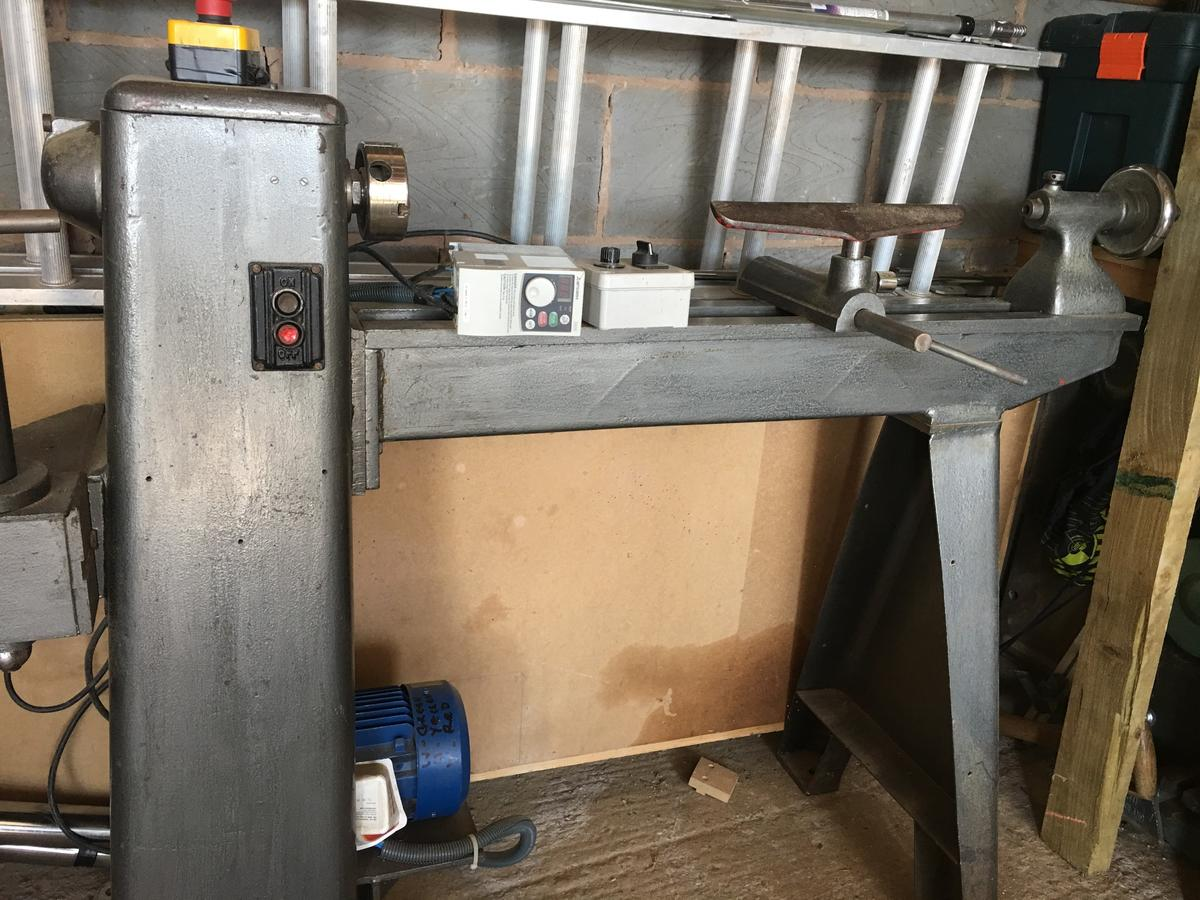Union Jubilee Wood Lathe with Variable Speed in CV12