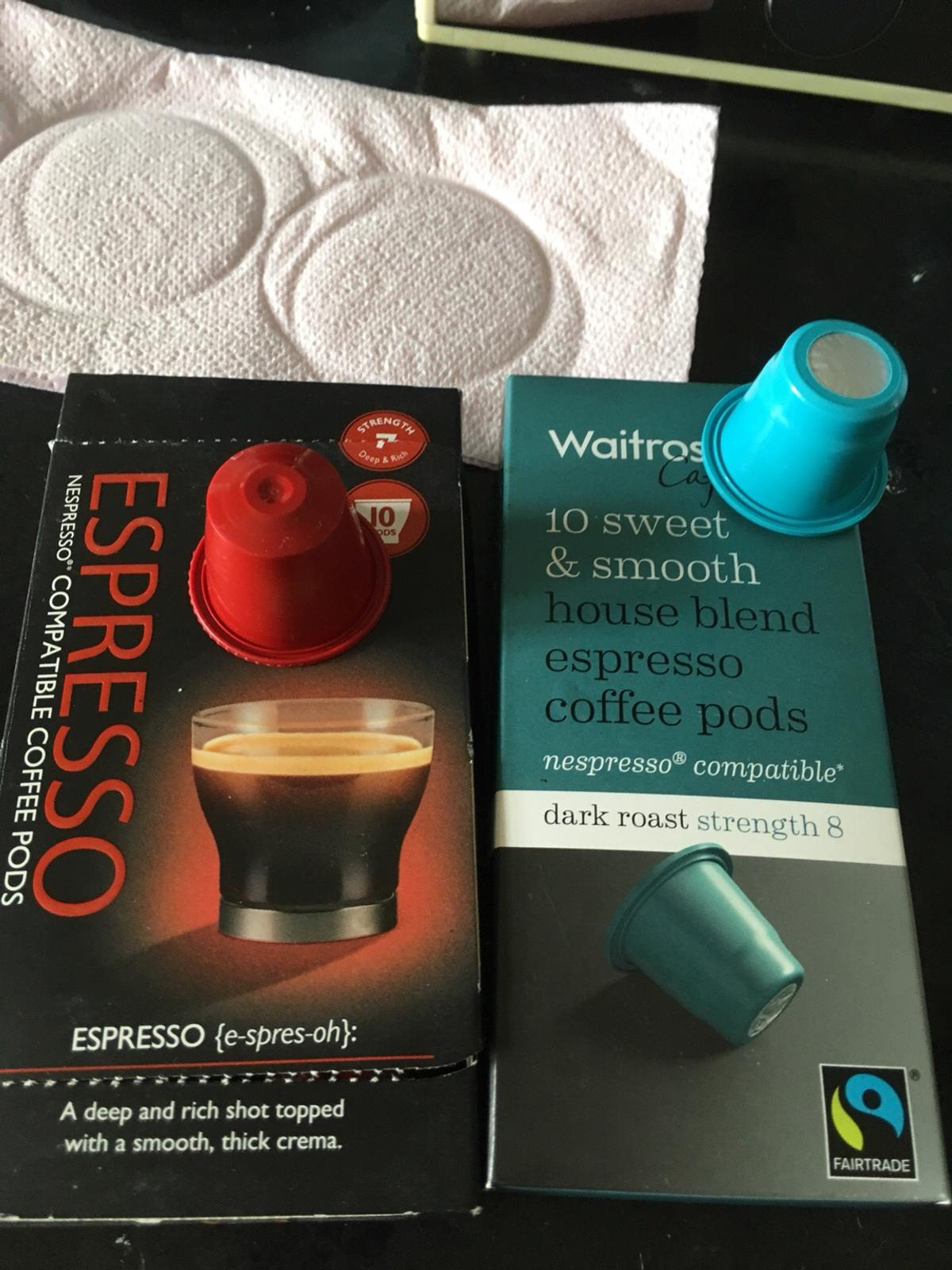 17 Nespresso Coffee Pods In Ls13 Leeds For Free For Sale