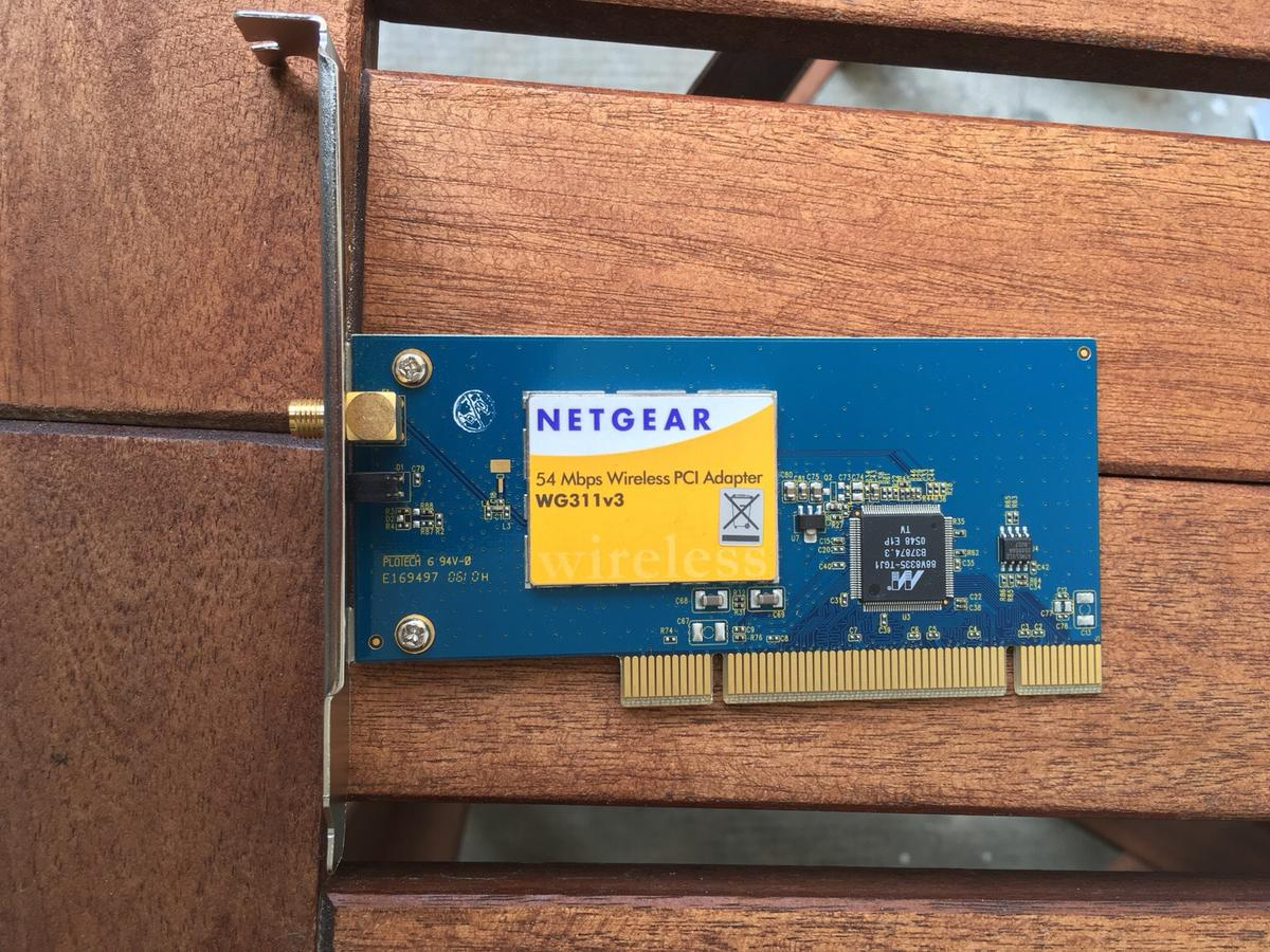 NETGEAR WG311V3 PCI ADAPTER DRIVERS