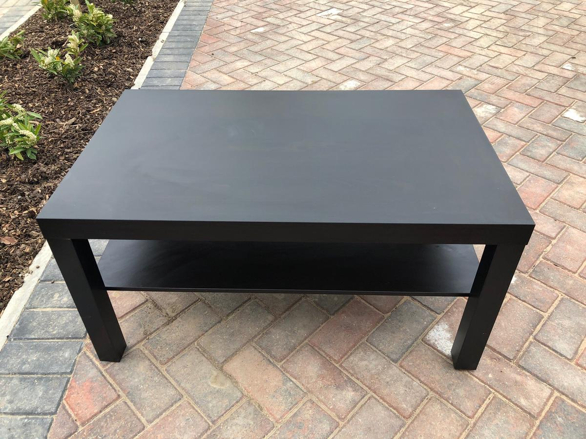 Ikea Coffee Table Black In Wf1 Wakefield For 10 00 For Sale Shpock