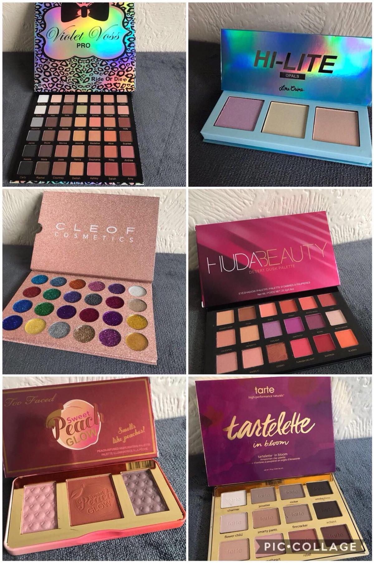 Lots Of Makeup Eyeshadow Palettes For