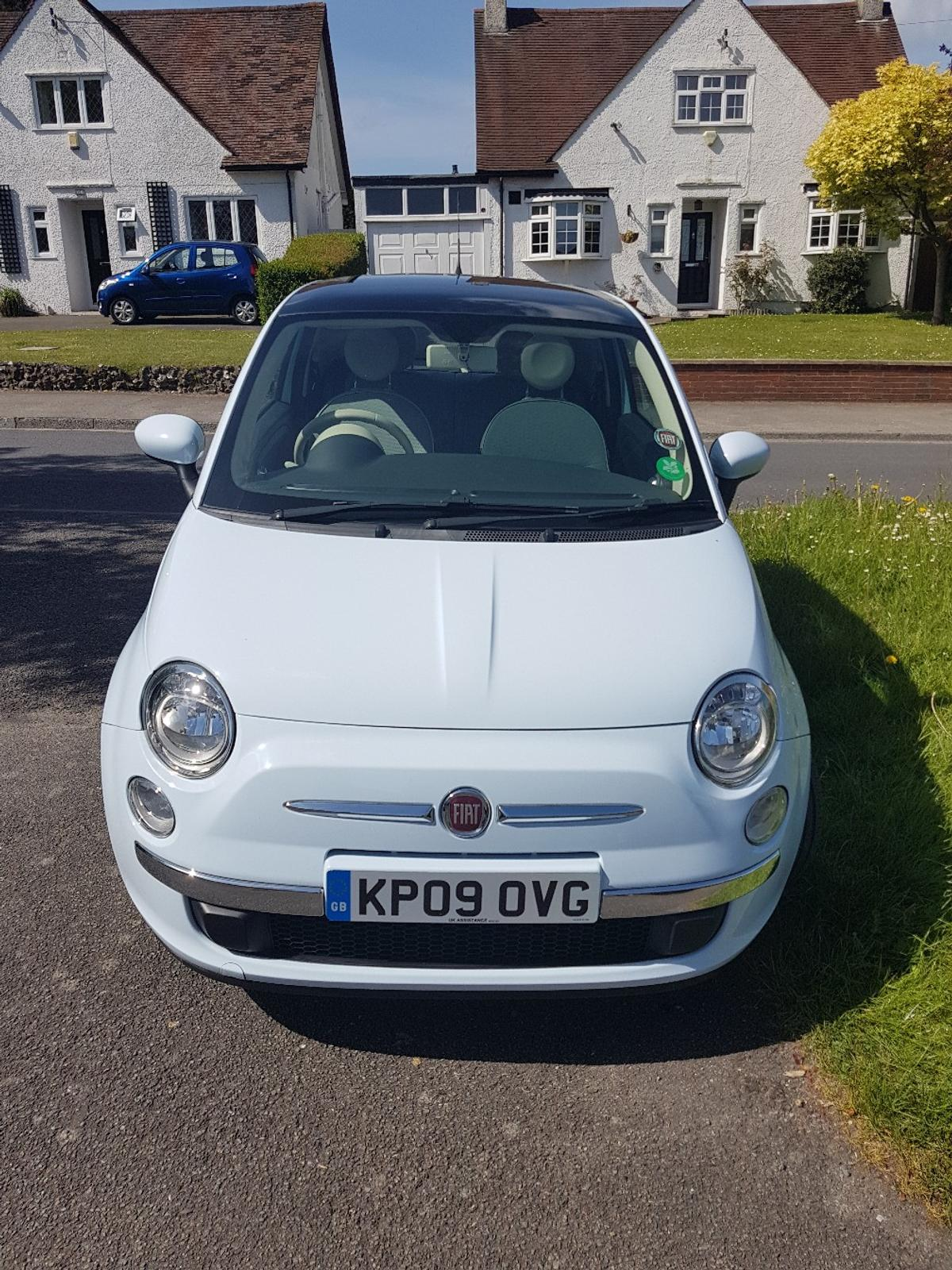 Fiat 500 Lounge Diesel Baby Blue In London For 2 995 00 For Sale Shpock