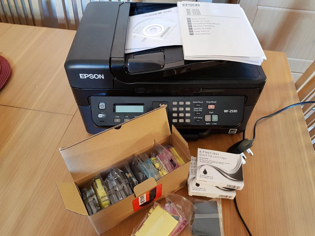 Epson printer and ink cartridges