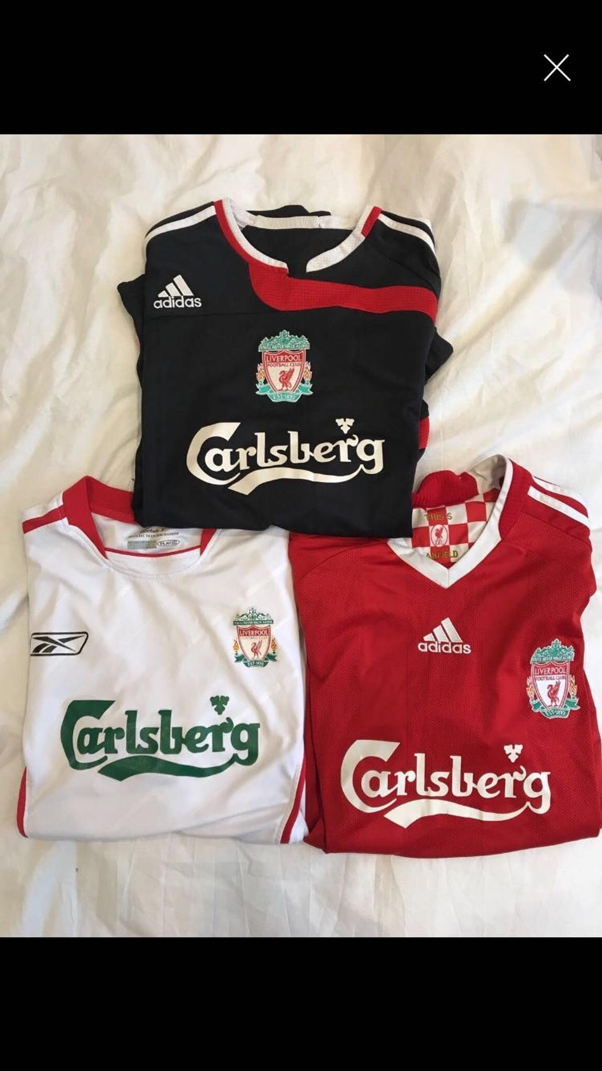 huge selection of 8454e a8636 LIVERPOOL FC JERSEYS