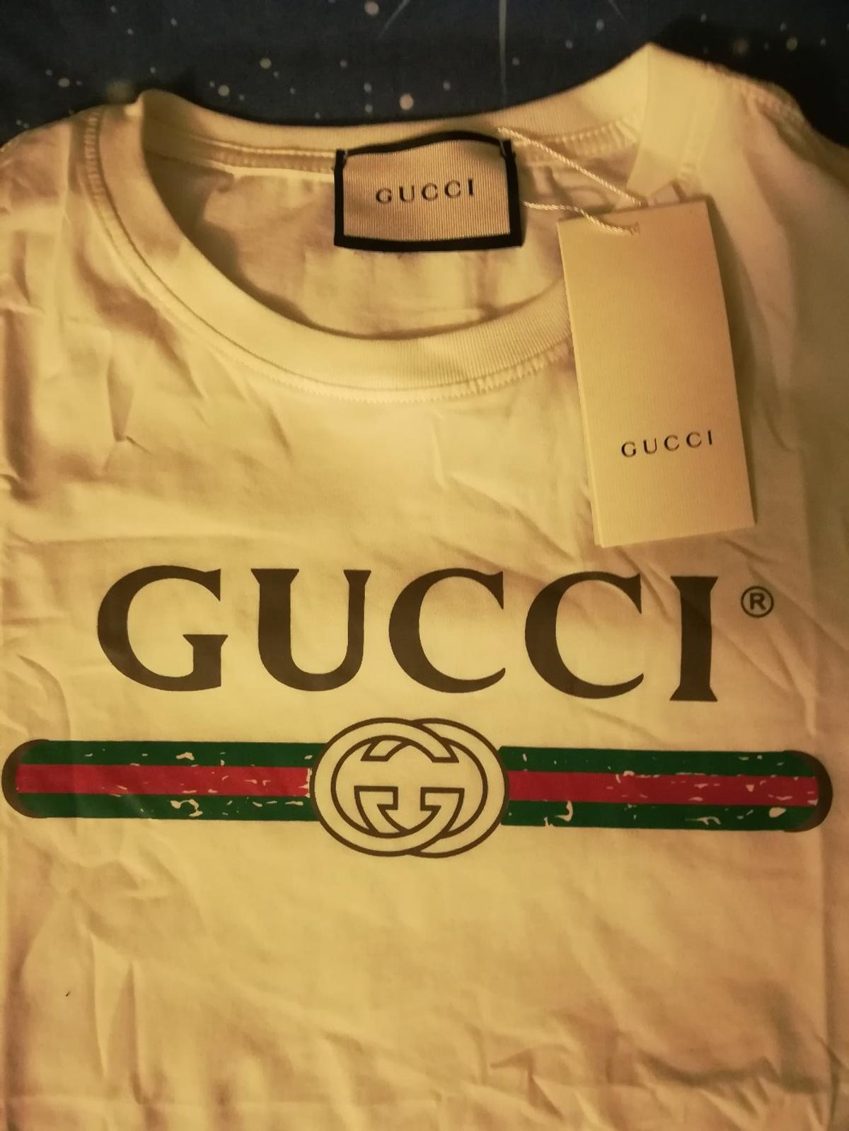 371b629eb T-shirt Gucci vintage logo in 24023 Clusone for €35.00 for sale - Shpock