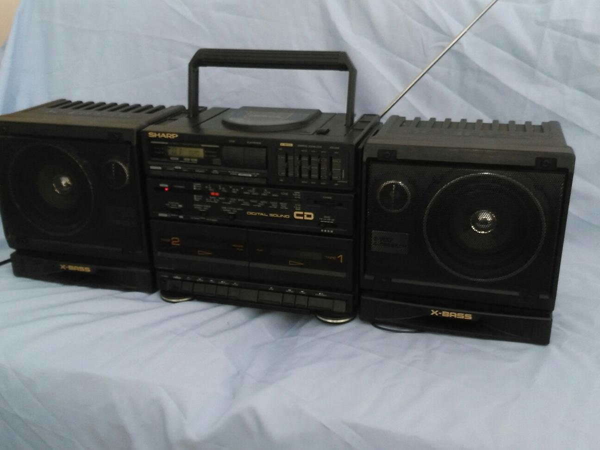 Sharp GX-CD60E Boom box in Doncaster for £40 00 for sale