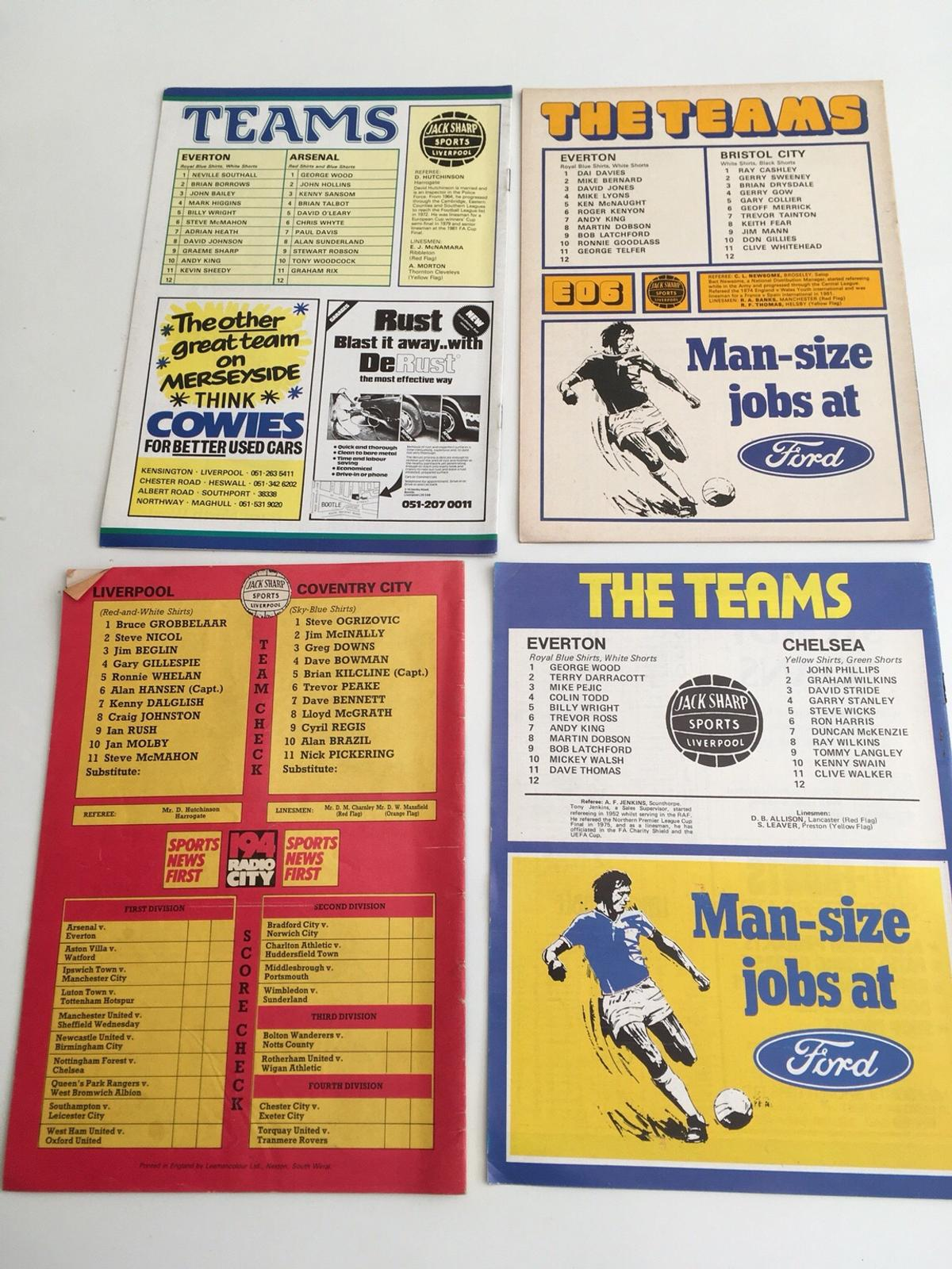be59678d5 Football programmes in BS3 Bristol for £12.50 for sale - Shpock