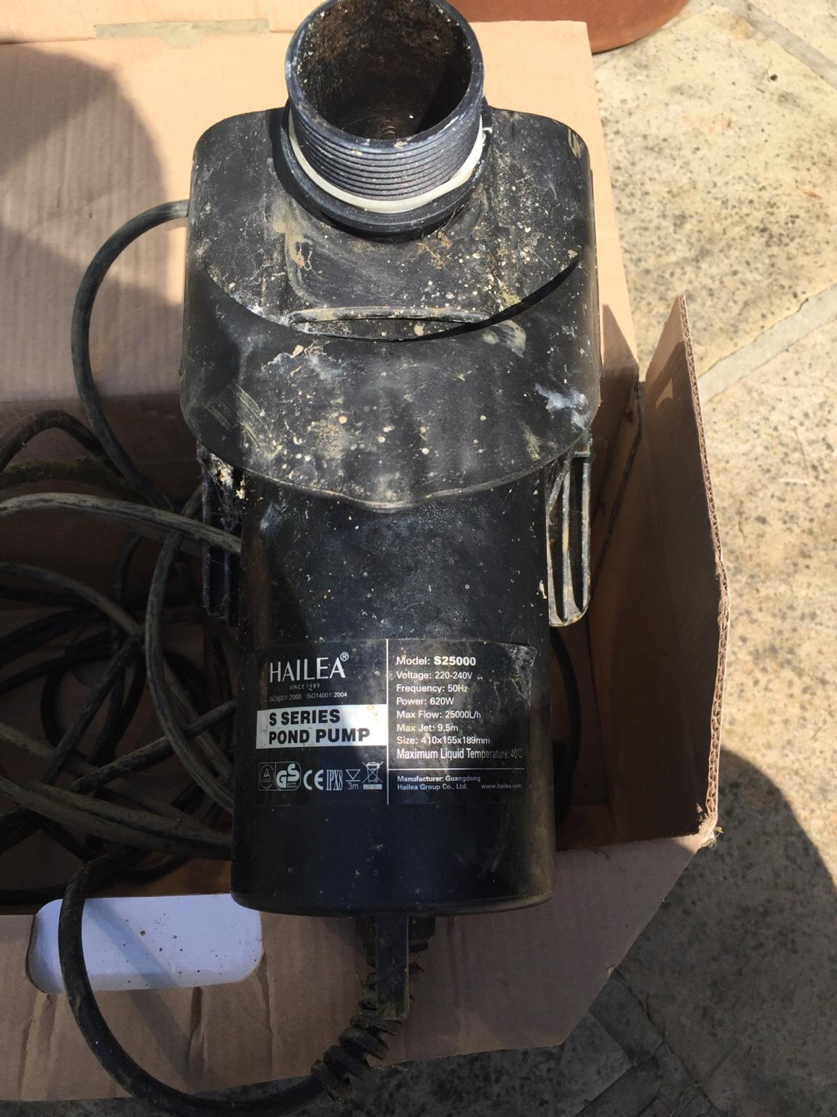 Awesome Hailea S25000 Submersible Pond Pump In Rm11 Havering Fur 45 00 Wiring Cloud Oideiuggs Outletorg