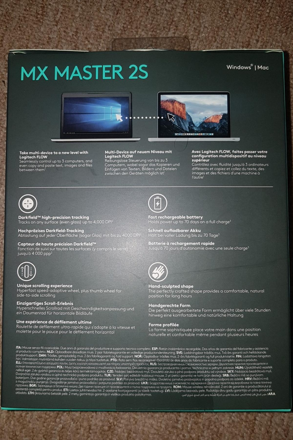 New Logitech MX master 2S in W2 Westminster for £55 00 for sale - Shpock