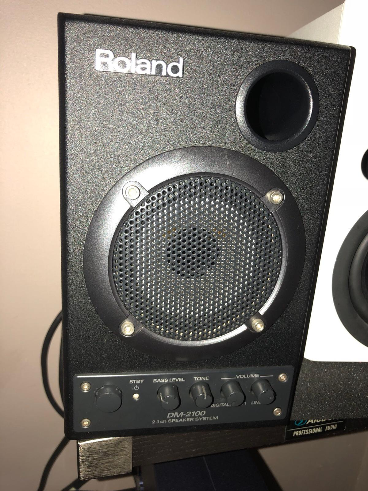 Verrassend Roland DM2100 speakers in DY4 Sandwell for £55.00 for sale - Shpock UW-46